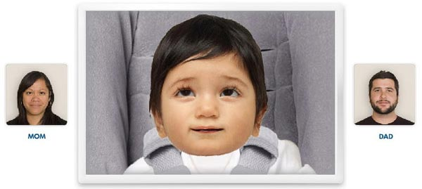 Направете си бебе онлайн virtual babymaker