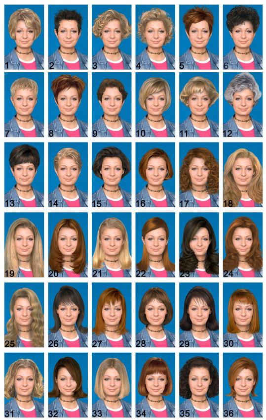 217 Vida Pricheski Za Fotoshop Argo Stars