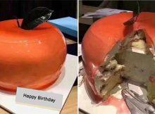 Вижте какъв подарък излезе от тортата...