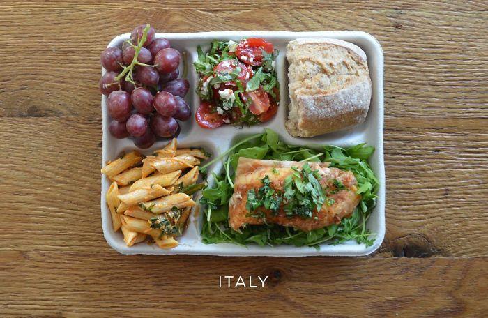 Какво получават децата за обяд в училищата по света и у нас
