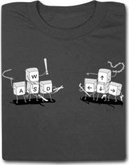Bloodsport WASD Funny T Shirt