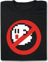Boo Buster Ghostbuster Mario Bros Funny Shirt