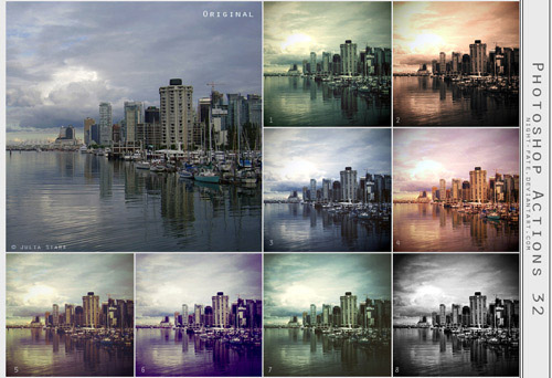 actions 13 Vintage and Aging Photo Effect Tutorials – The Ultimate Round Up