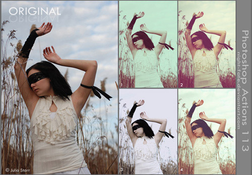 actions 14 Vintage and Aging Photo Effect Tutorials – The Ultimate Round Up