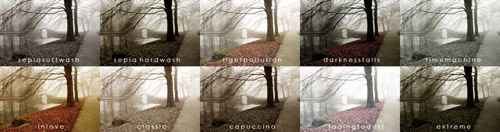 actions 5 Vintage and Aging Photo Effect Tutorials – The Ultimate Round Up