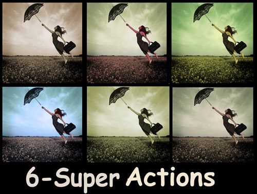 actions 9 Vintage and Aging Photo Effect Tutorials – The Ultimate Round Up