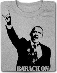 Barack On Funny Political Funny T Shirt