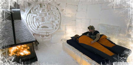 Ice Hotel in Canada