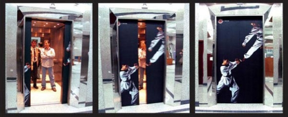 kick - No! These are the best elevators ever!