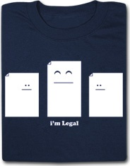 I'm Legal Funny T Shirt