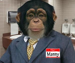 napravi se na maimuna