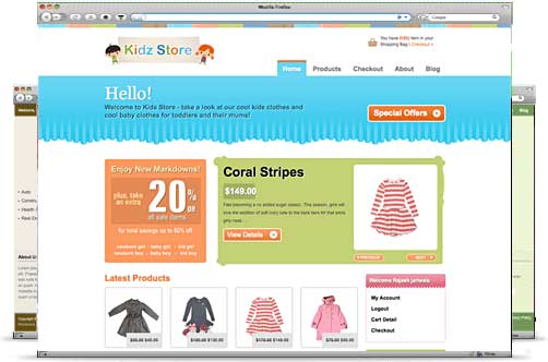 Kidz Store e-commerce theme