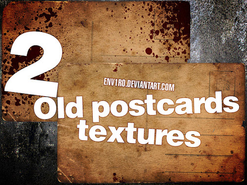 textures 11 Vintage and Aging Photo Effect Tutorials – The Ultimate Round Up