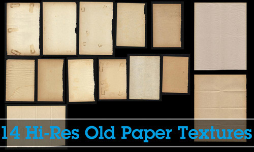 textures 13 Vintage and Aging Photo Effect Tutorials – The Ultimate Round Up