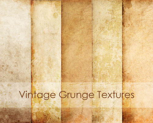 textures 1 Vintage and Aging Photo Effect Tutorials – The Ultimate Round Up