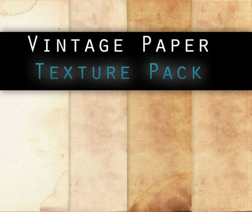 textures 7 Vintage and Aging Photo Effect Tutorials – The Ultimate Round Up