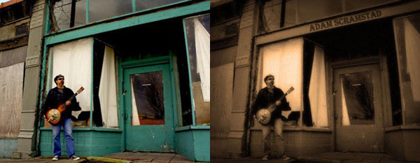 tut 12 Vintage and Aging Photo Effect Tutorials – The Ultimate Round Up